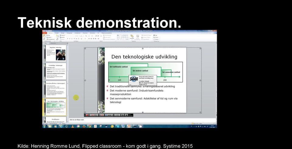 Lund, Flipped classroom