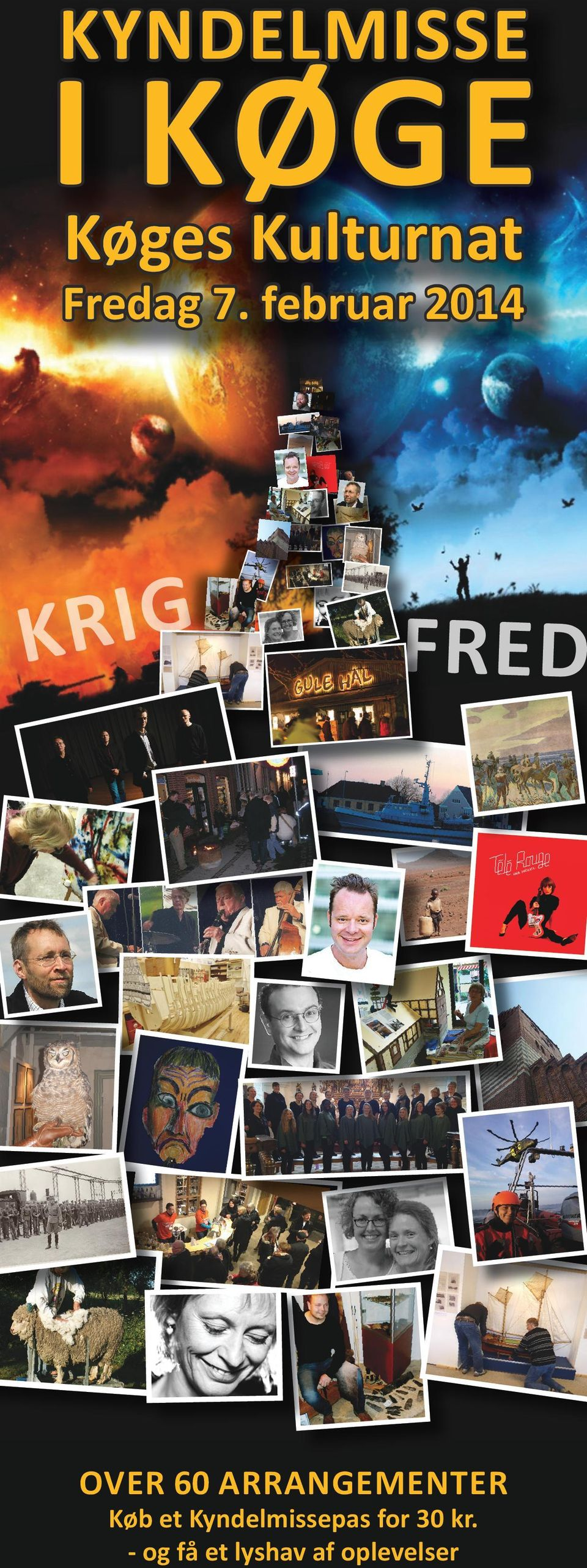 februar 2014 KRIG FRED OVER 60 ARRANGEMENTER