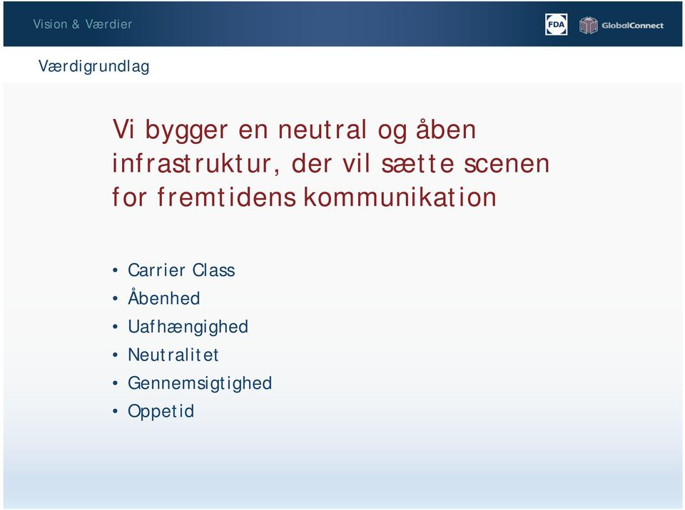 scenen for fremtidens kommunikation Carrier