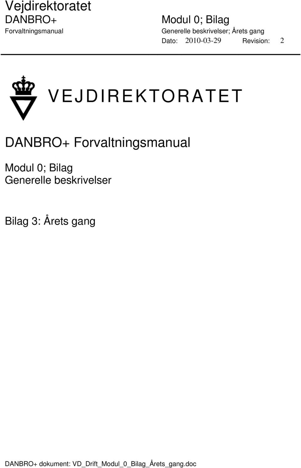 Årets gang dokument: