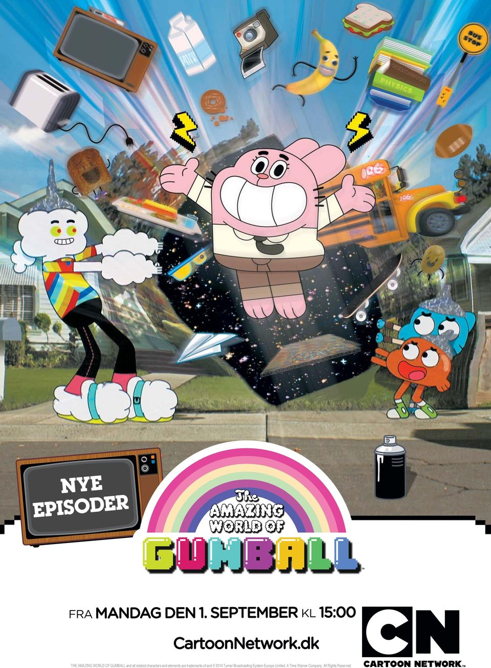 dk THE AMAZING WORLD OF GUMBALL and all related characters and