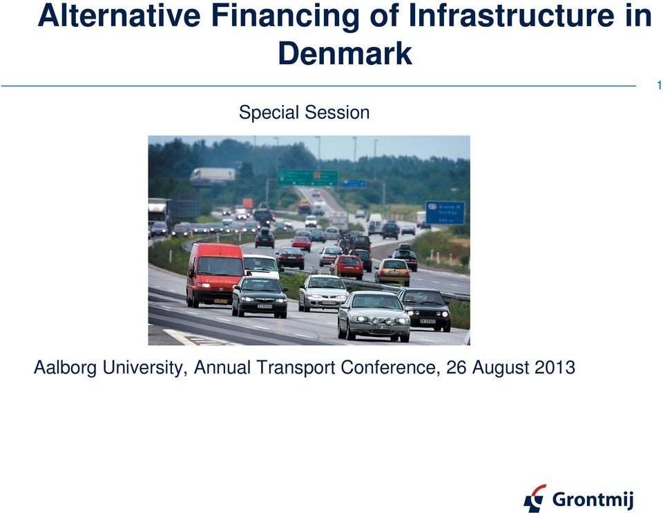 University, Annual Transport Conference, 26