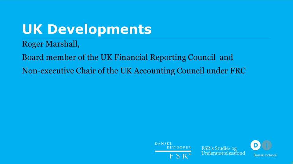 and Non-executive Chair of the UK Accounting