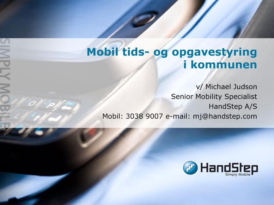 Mobility Specialist HandStep A/S