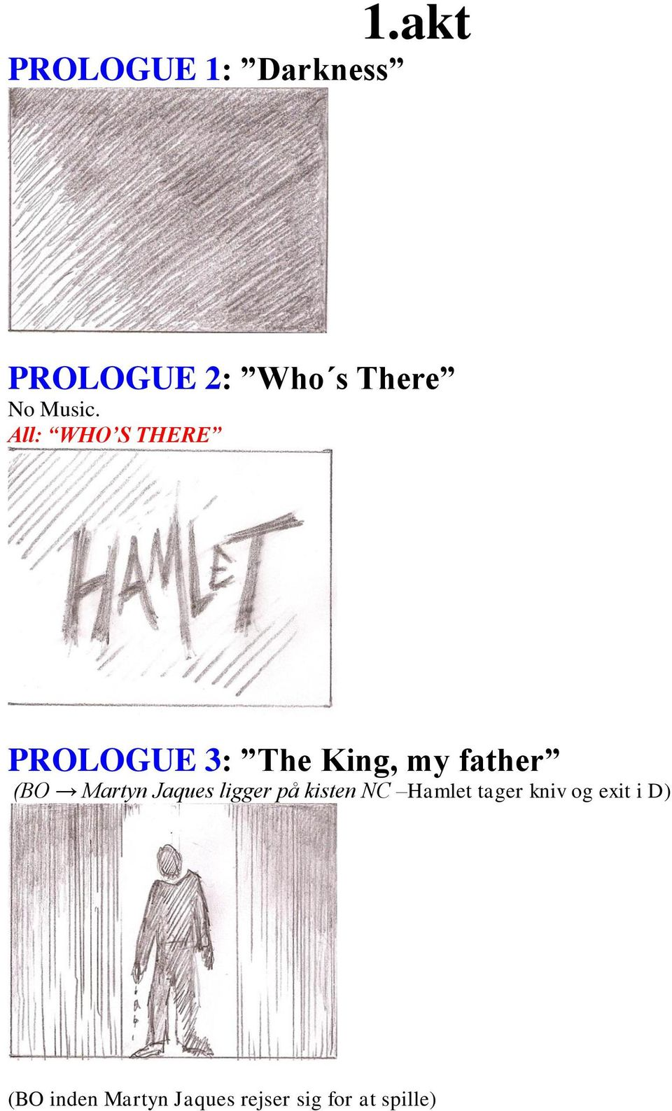 All: WHO S THERE PROLOGUE 3: The King, my father (BO