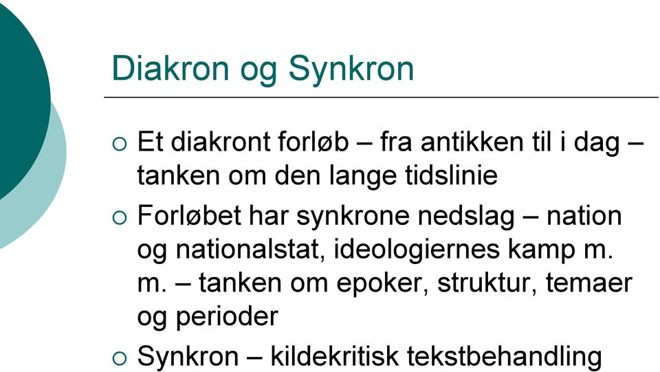 nation og nationalstat, ideologiernes kamp m.
