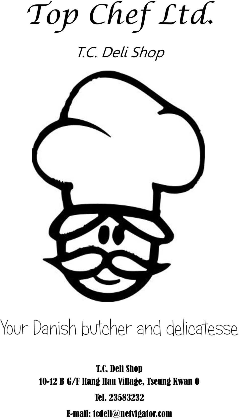 Deli Shop Your Danish butcher and