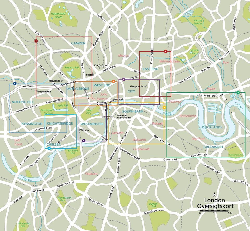 Albany St. Regent St. Victoria Euston King's Cross Oxford St. Charing Cross Westminster Br. Vauxhall Br. Euston Road WEST END MARYLEBONE Soho St. James s Ln.