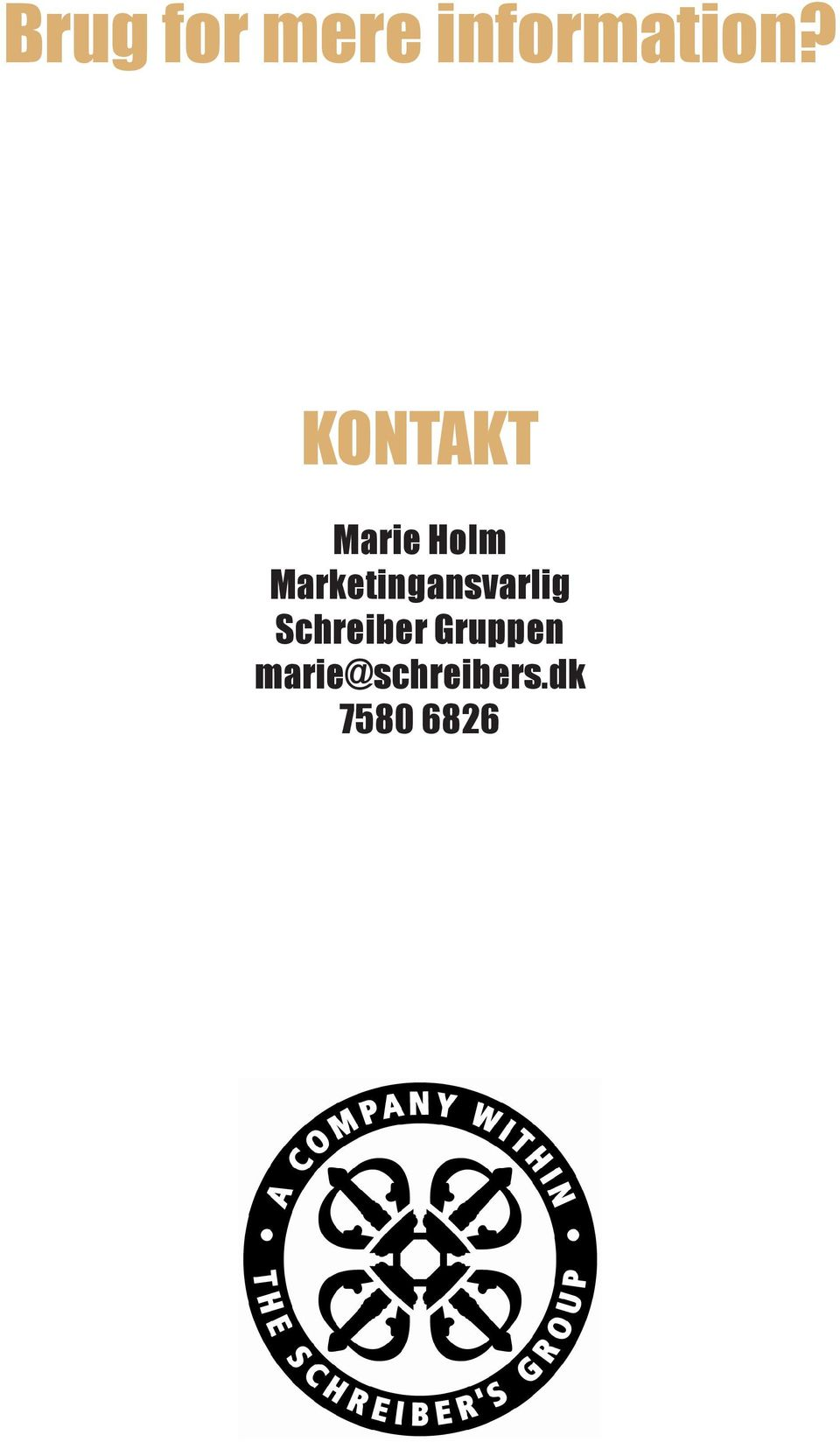 Marketingansvarlig