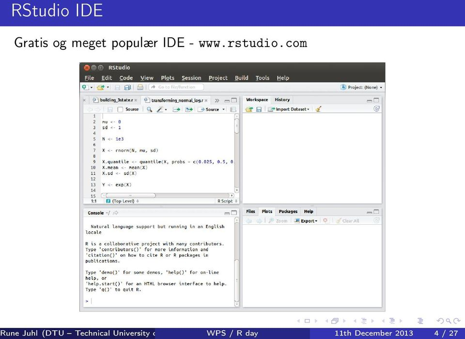 com DTU WPS Compute / R day Department