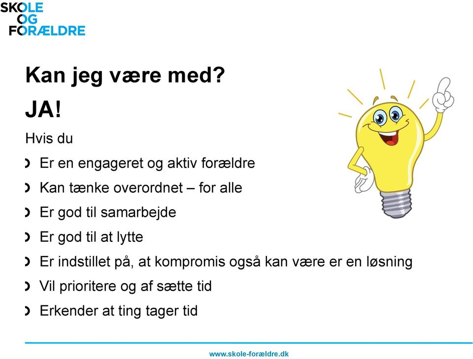 Er god til at lytte!
