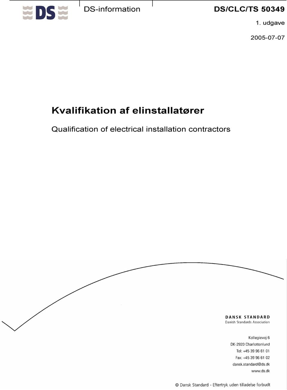 elinstallatører Qualification of