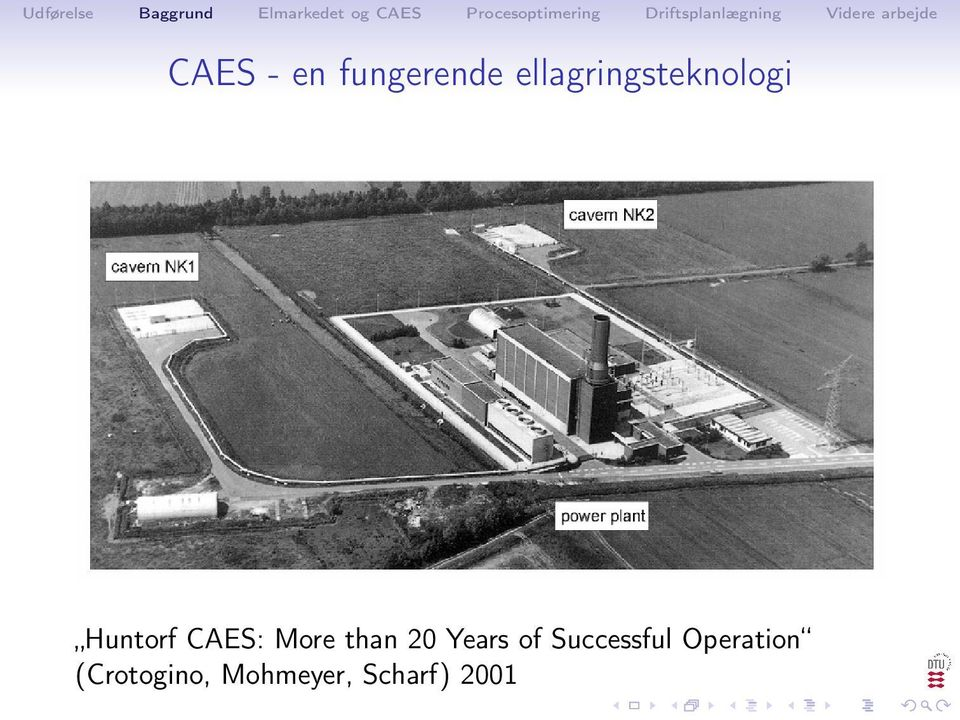 CAES: More than 20 Years of