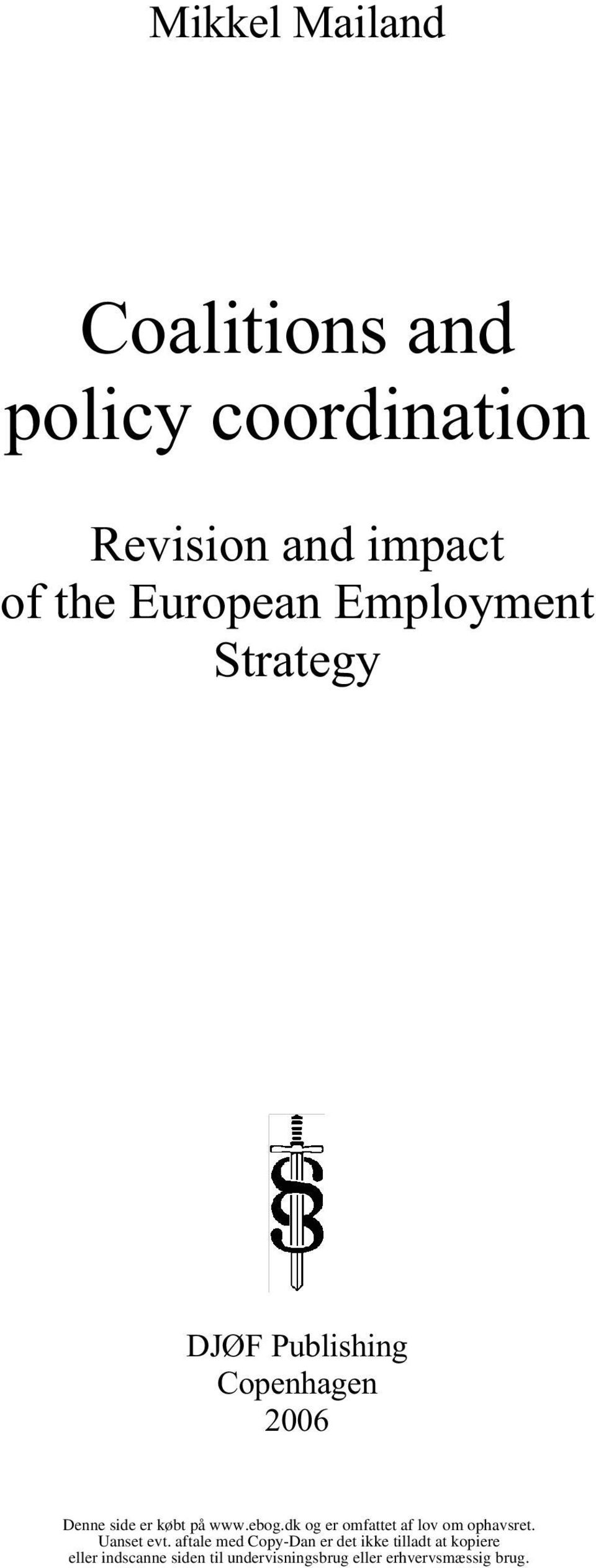 impact of the European Employment