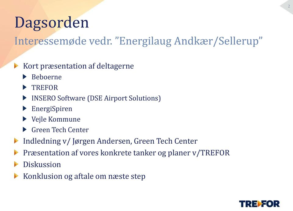 Software (DSE Airport Solutions) EnergiSpiren Vejle Kommune Green Tech Center