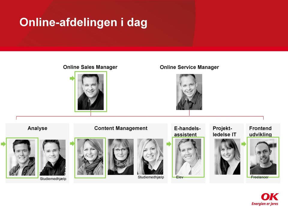 Management E-handelsassistent Projektledelse IT