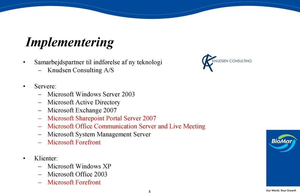 Sharepoint Portal Server 2007 Microsoft Office Communication Server and Live Meeting Microsoft