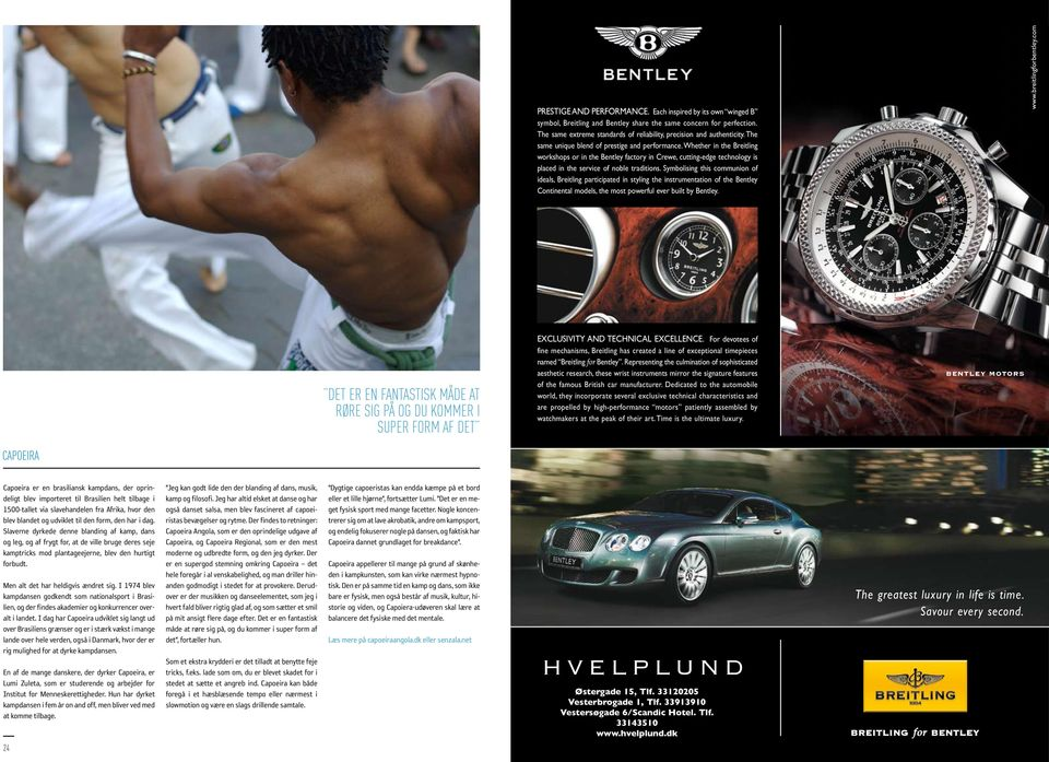 Symbolising this communion of ideals, Breitling participated in styling the instrumentation of the Bentley Continental models, the most powerful ever built by Bentley. www.breitlingforbentley.