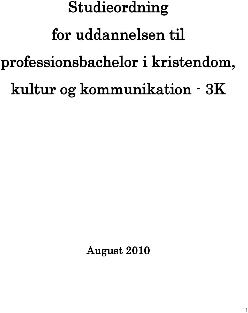 professionsbachelor i