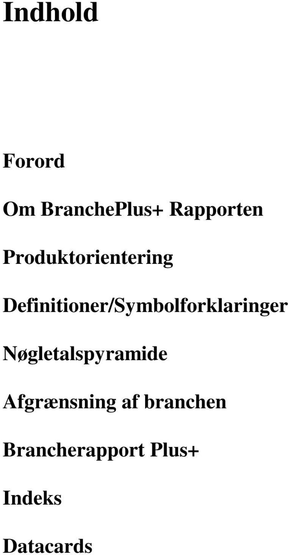 Definitioner/Symbolforklaringer