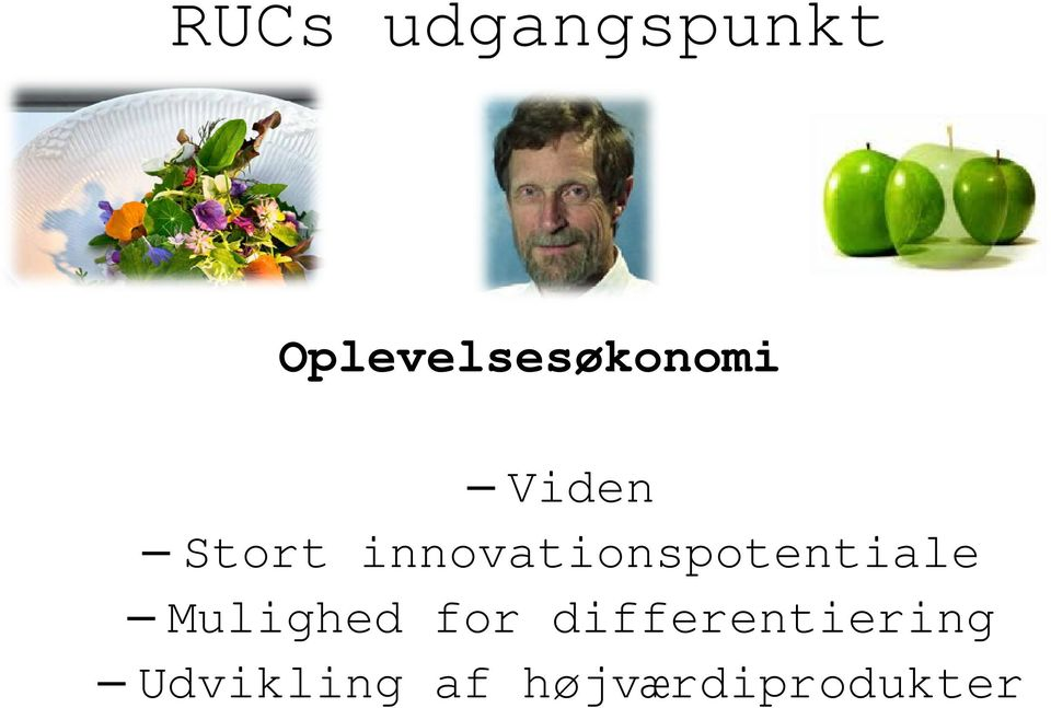 innovationspotentiale Mulighed