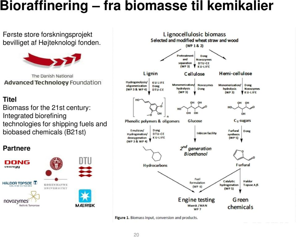 Titel Biomass for the 21st century: Integrated biorefining