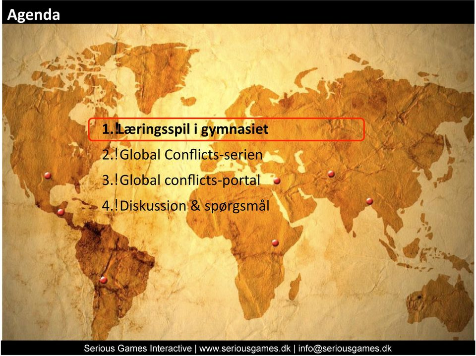 Global conflicts portal 4.