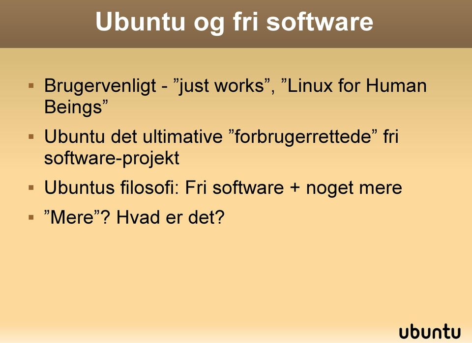 ultimative forbrugerrettede fri software-projekt