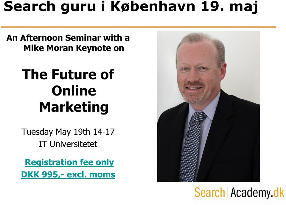 Keynote on The Future of Online Marketing