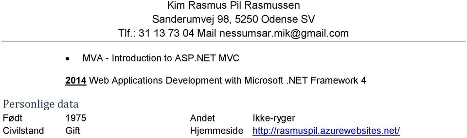 NET MVC 2014 Web Applicatins Develpment with Micrsft.