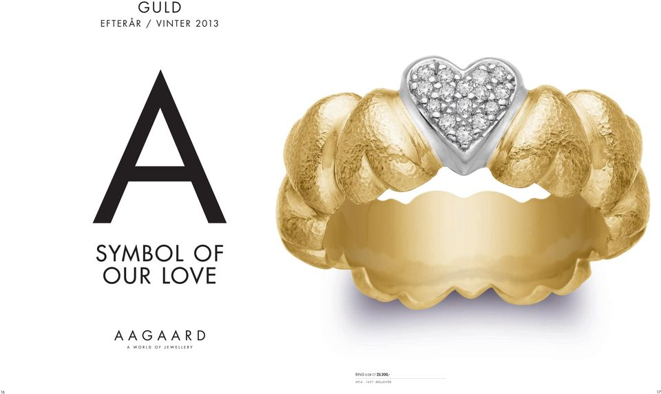 OUR LOVE RING 0.08 CT 23.