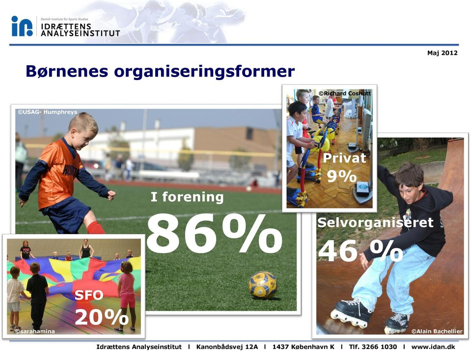 forening 86% Privat 9%