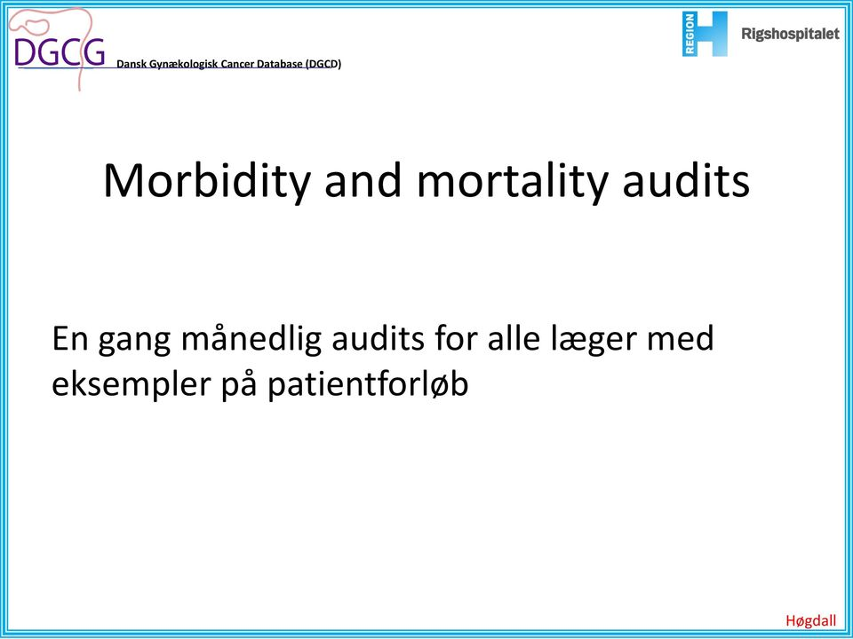 audits for alle læger