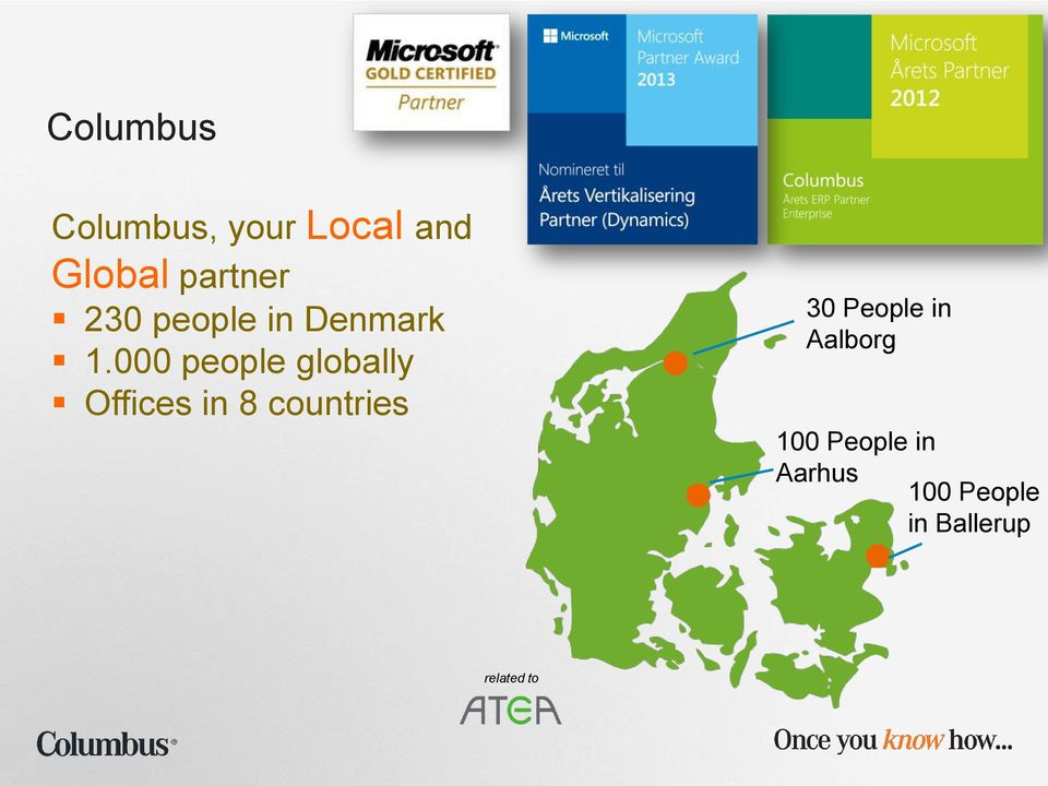 000 people globally Offices in 8 countries 30