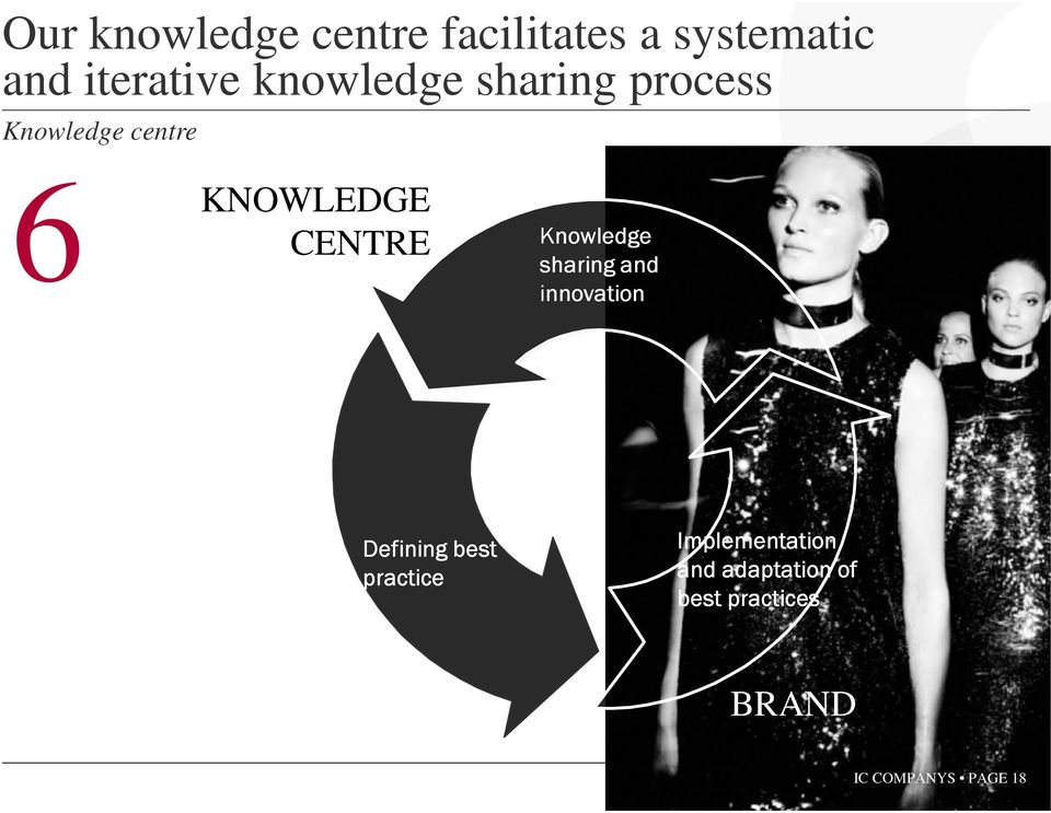 Knowledge sharing and innovation Defining best practice