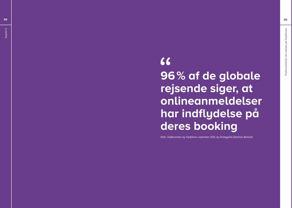booking Kilde: TripBarometer by TripAdvisor,