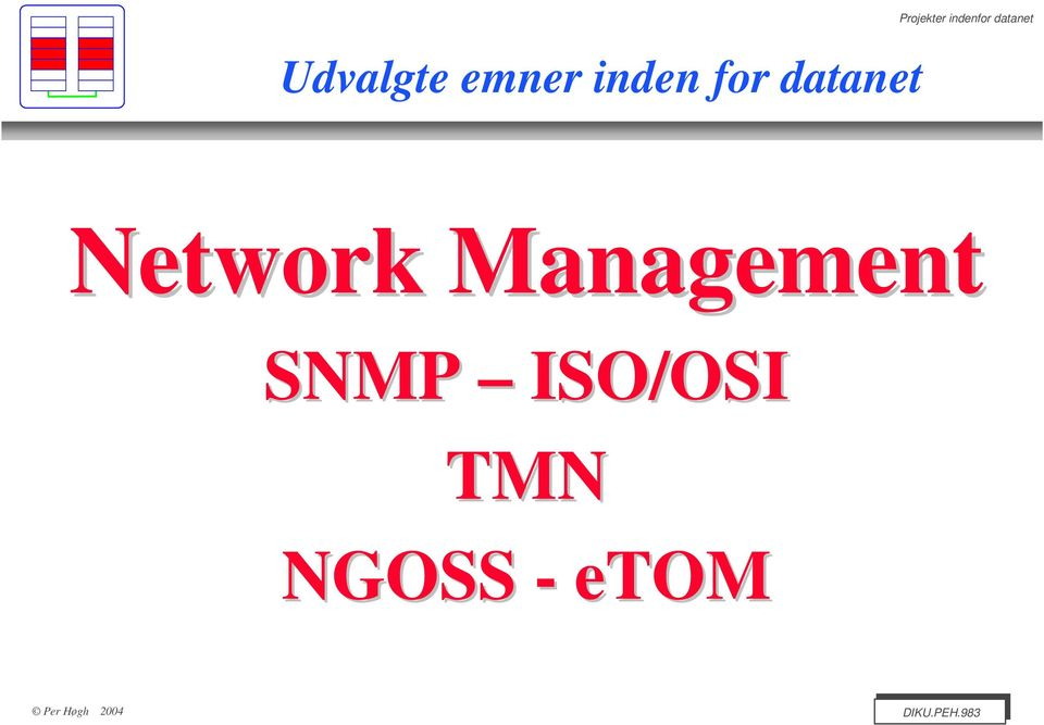 datanet Network SNMP