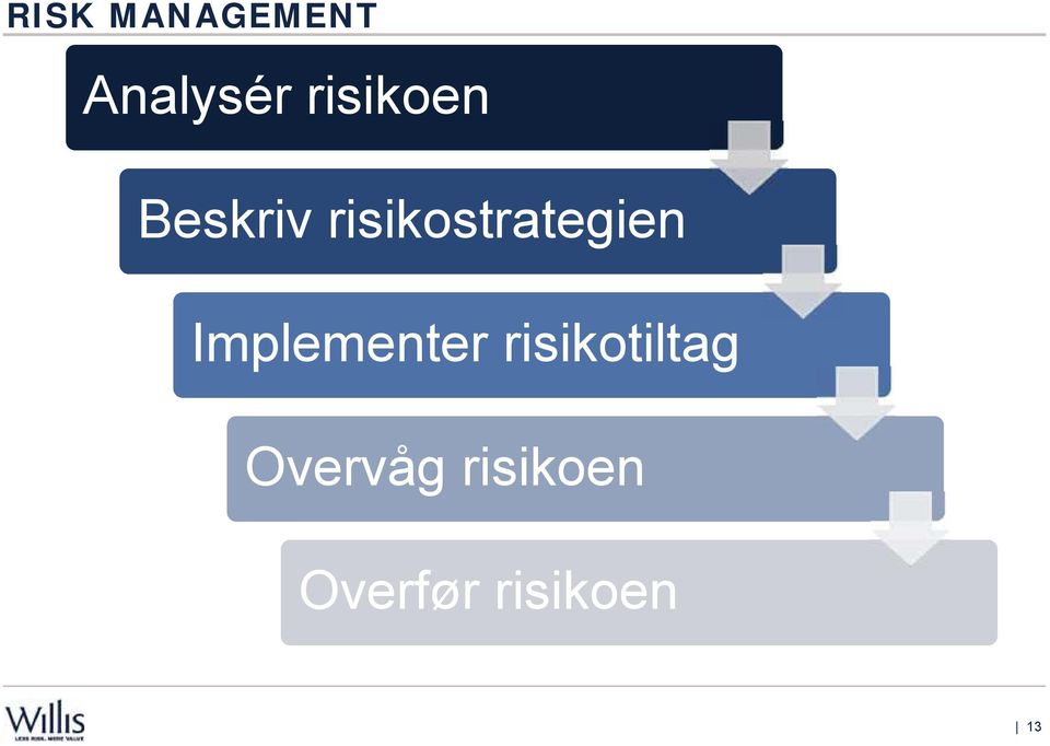 risikostrategien Implementer