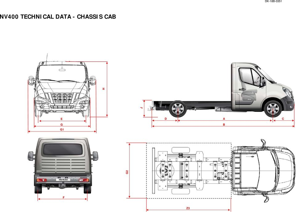 CHASSIS CAB J