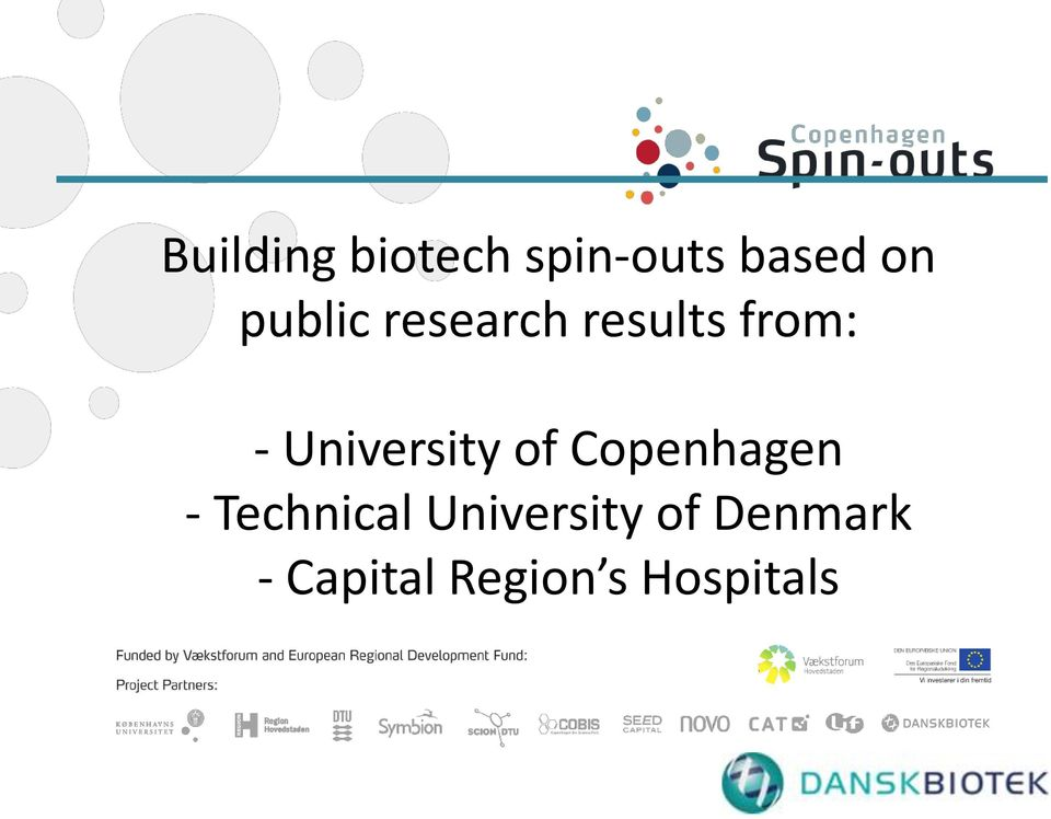 University of Copenhagen - Technical