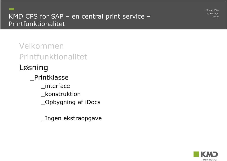 Løsning _Printklasse _interface