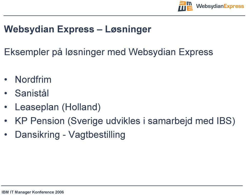 Sanistål Leaseplan (Holland) KP Pension