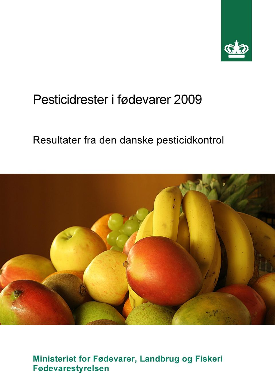 pesticidkontrol Ministeriet for