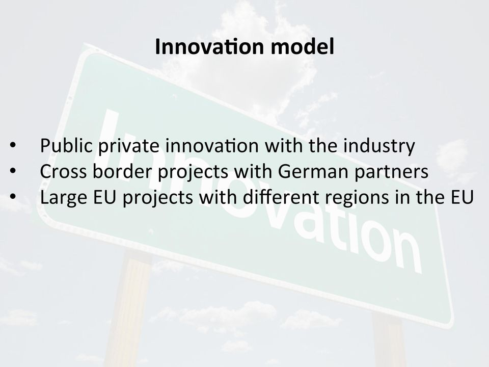 border projects with German partners