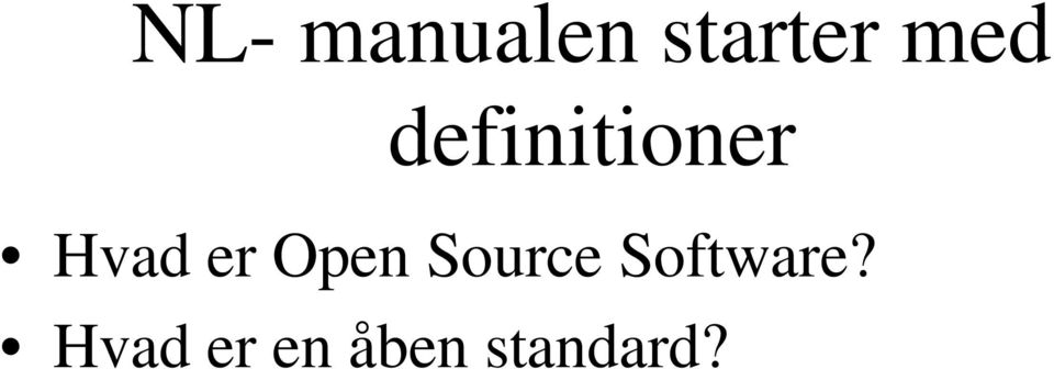 er Open Source