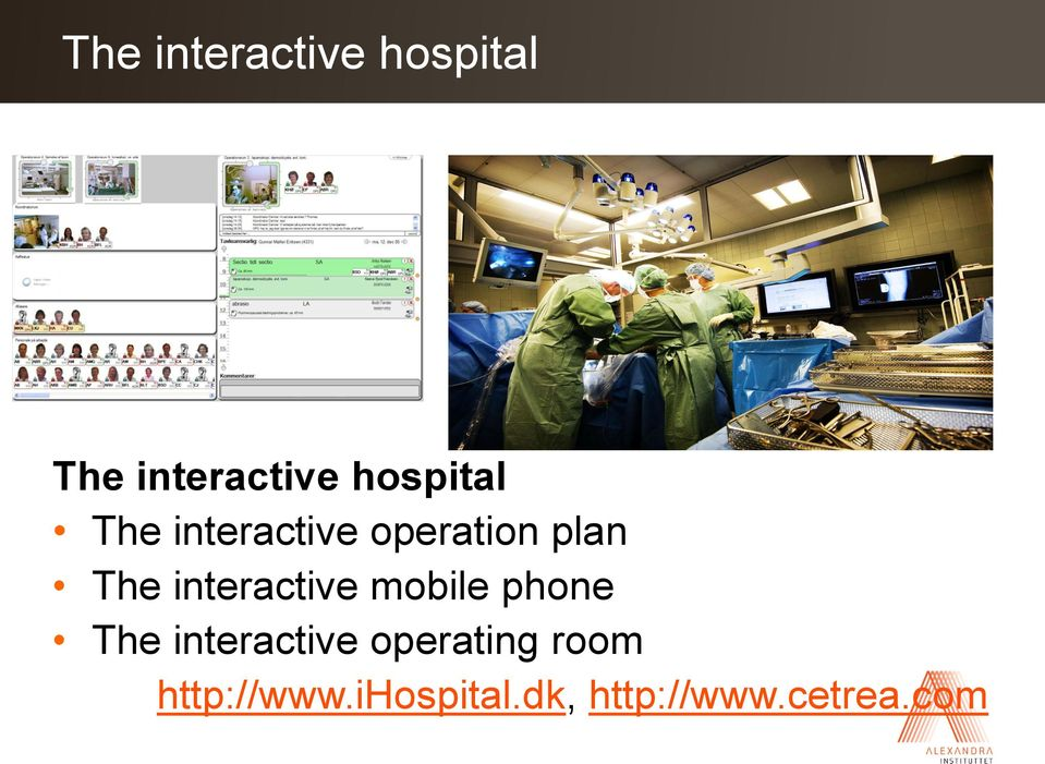 operation plan The interactive mobile phone The
