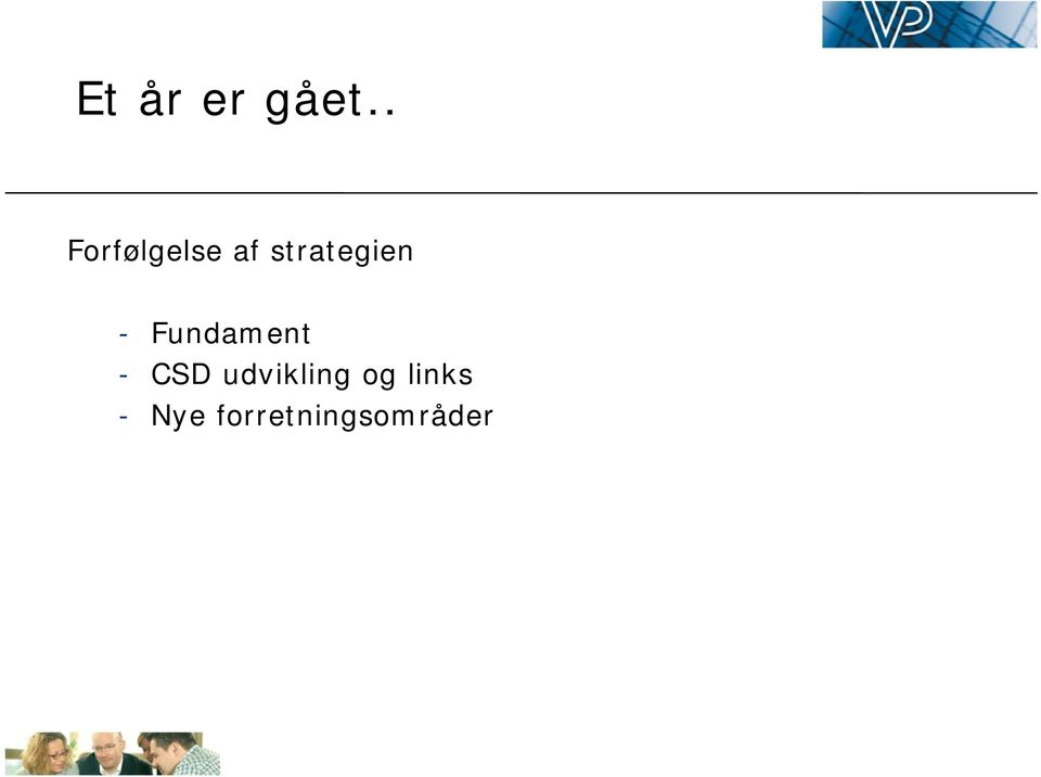 strategien - Fundament -