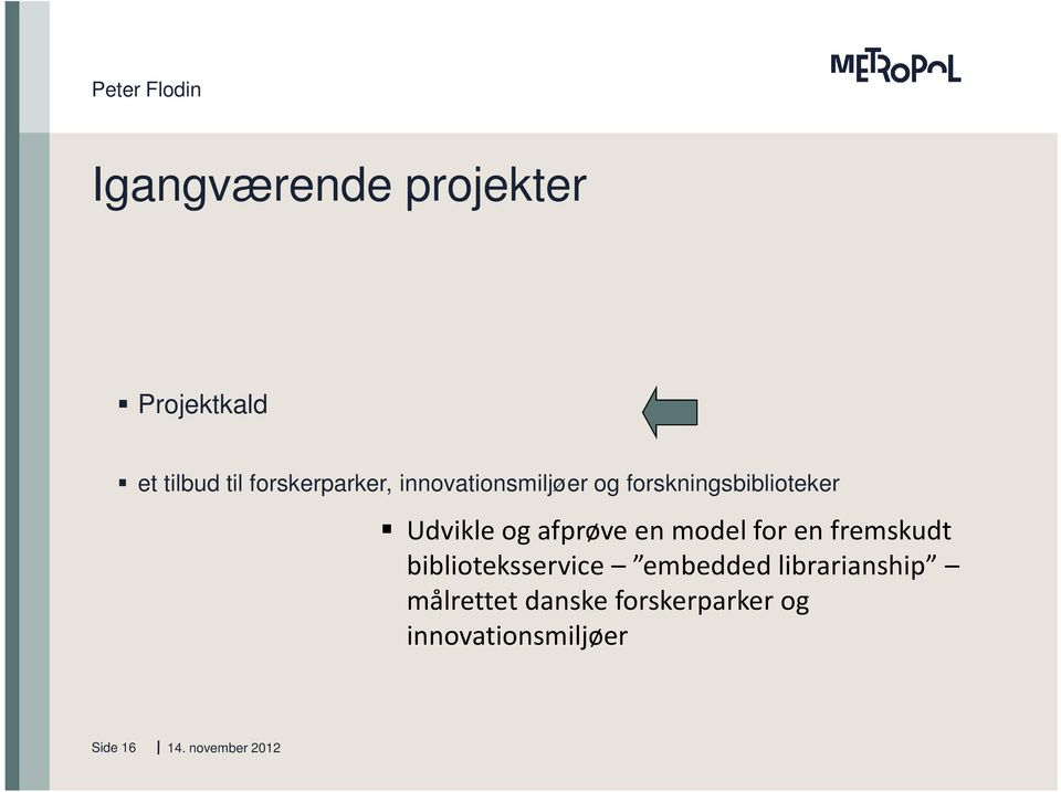 en model for en fremskudt biblioteksservice embedded