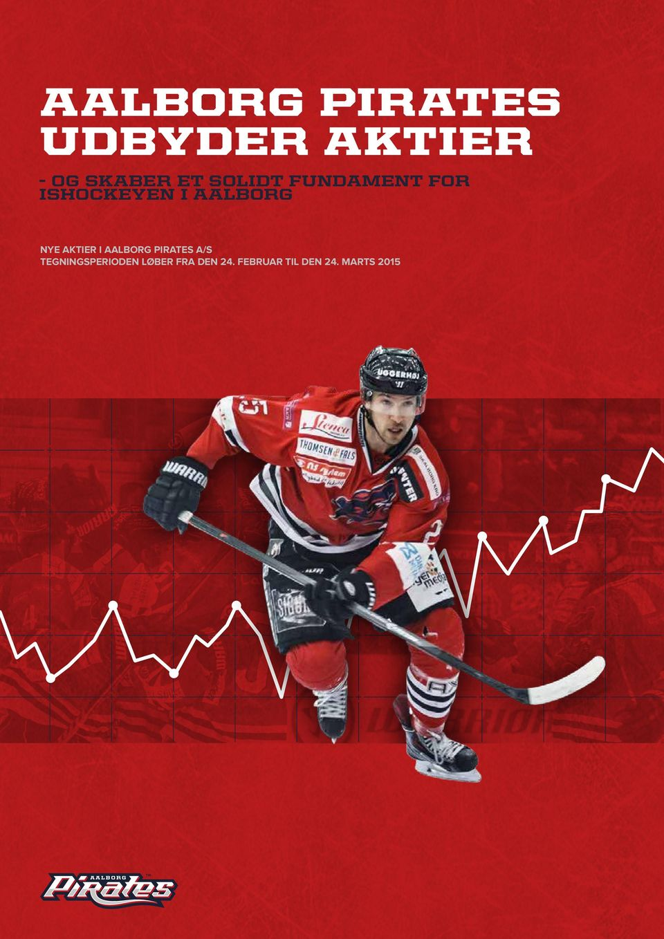 AKTIER I AALBORG PIRATES A/S TEGNINGSPERIODEN
