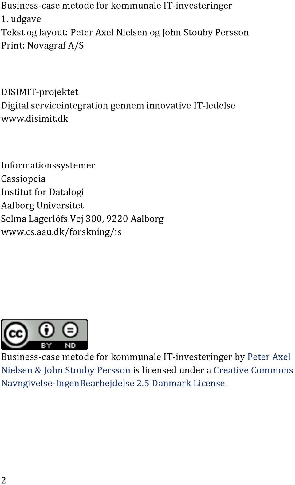 innovative IT- ledelse www.disimit.